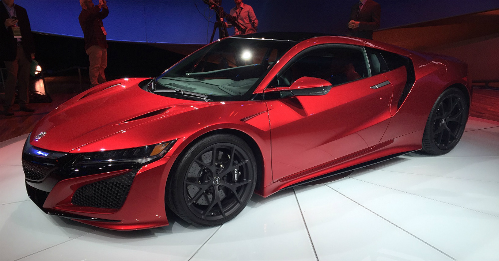 2016 Acura NSX Red