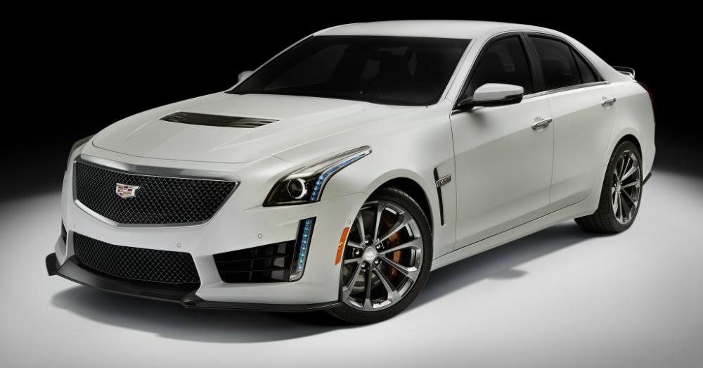 2016 Cadillac CTS-V White