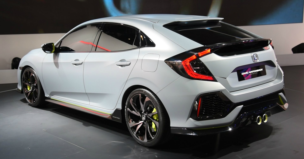 03.29.16 - Honda Civic Hatchback Prototype