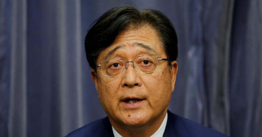 07.20.16 - Former Mitsubishi CEO Osamu Masuko