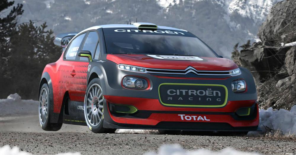 10.11.16 - Citroen Racing C3 WRC