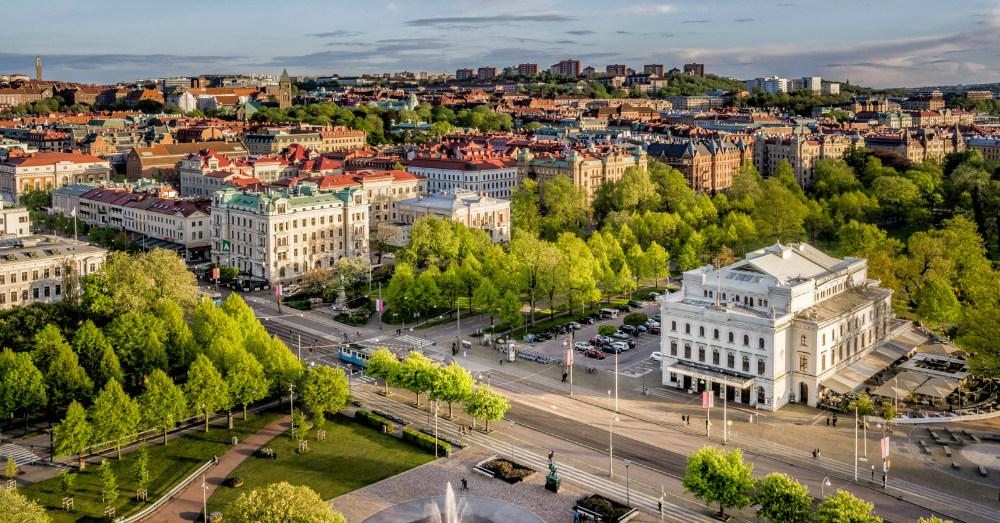 11.10.16 - Gothenburg Skyline