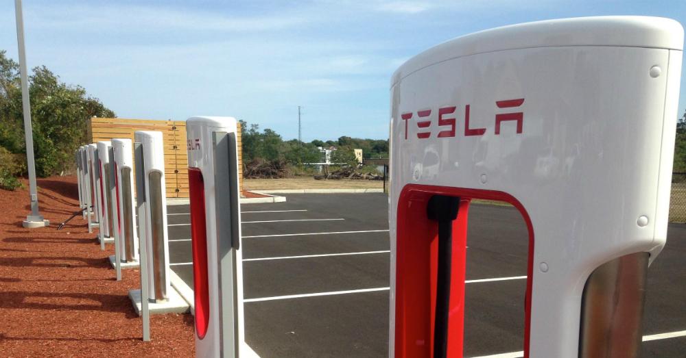 11.21.16 - Tesla Charging Station