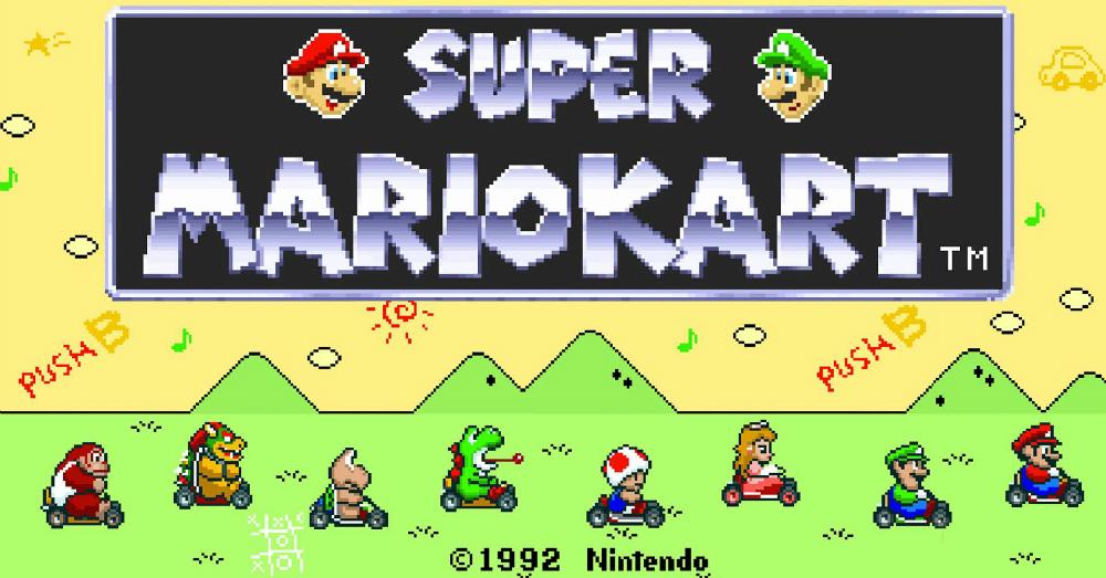 11.28.16 - Super Mario Kart