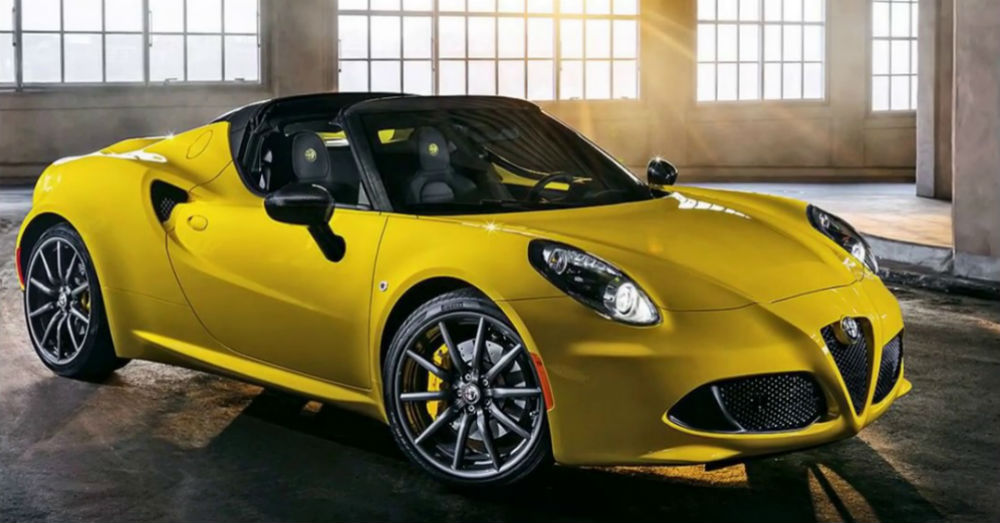 Upgrades Alfa Romeo 4C