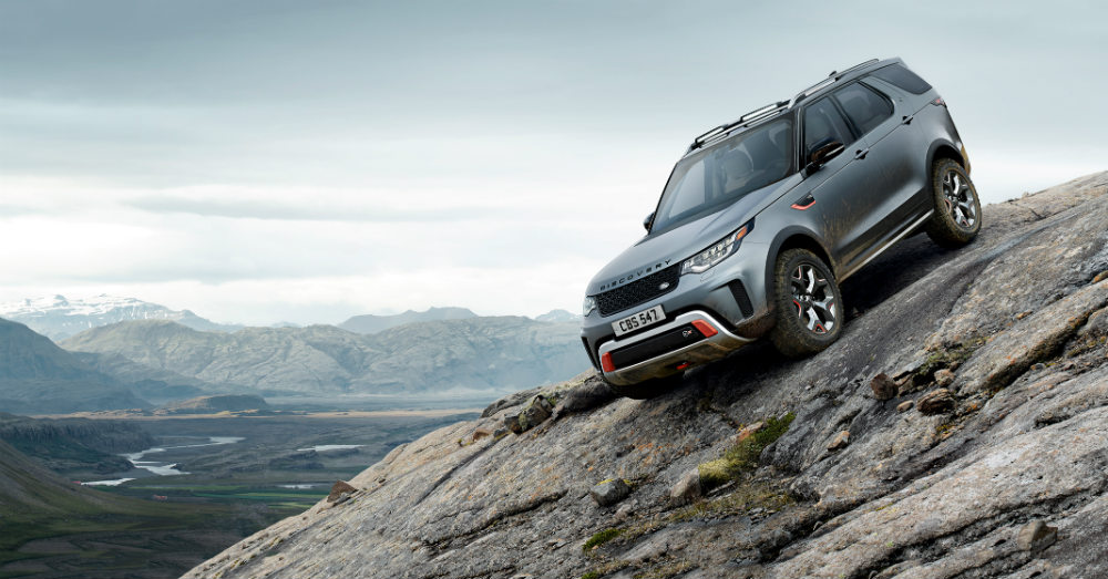 Discovery SVX Even More Capable on the Trails
