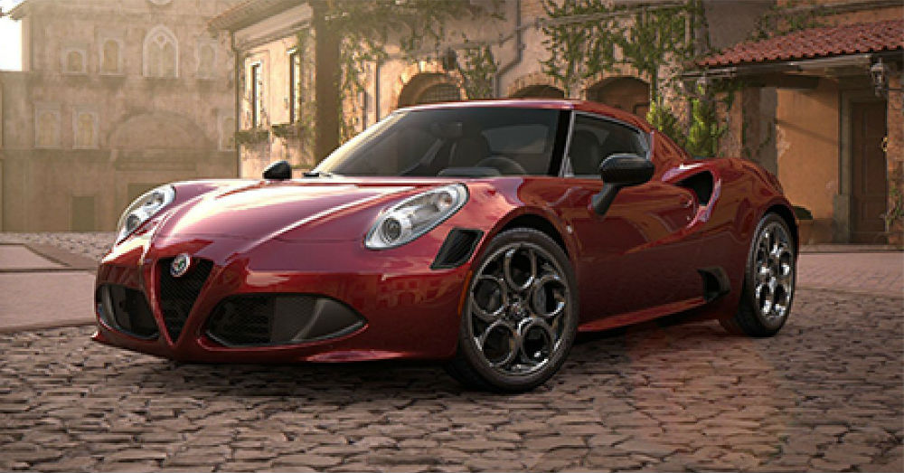 2019 Alfa Romeo 4C Performance on the Brain