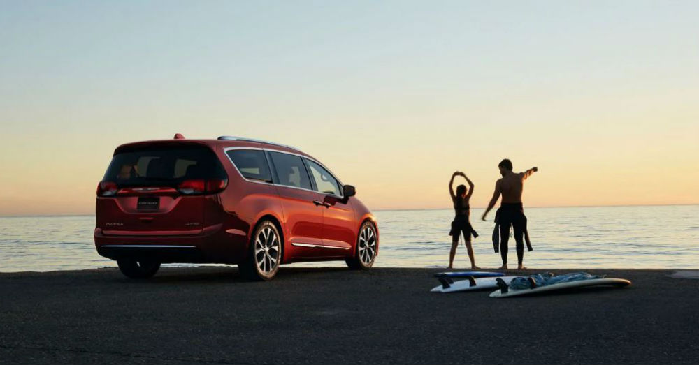 Minivan - Chrysler Pacifica Gives Your Family More