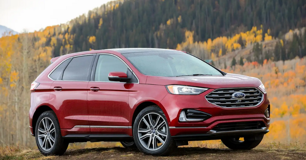 The New Ford Edge has a Drive System That's Amazing