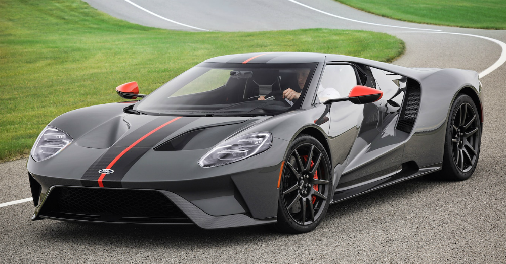 The Livable Ford GT Sports Car