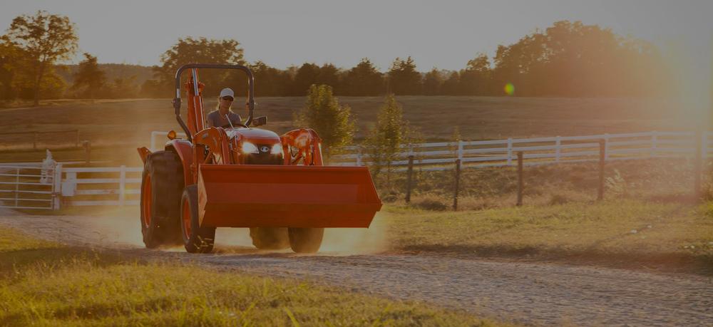 Kubota tractors