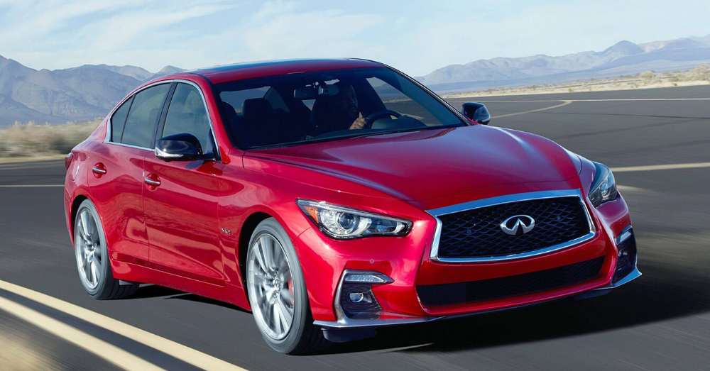 Admire the Excellence of the INFINITI Q50