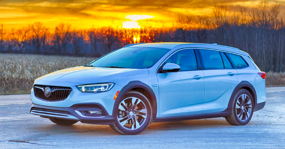 The Buick Regal TourX is a Sexy Wagon