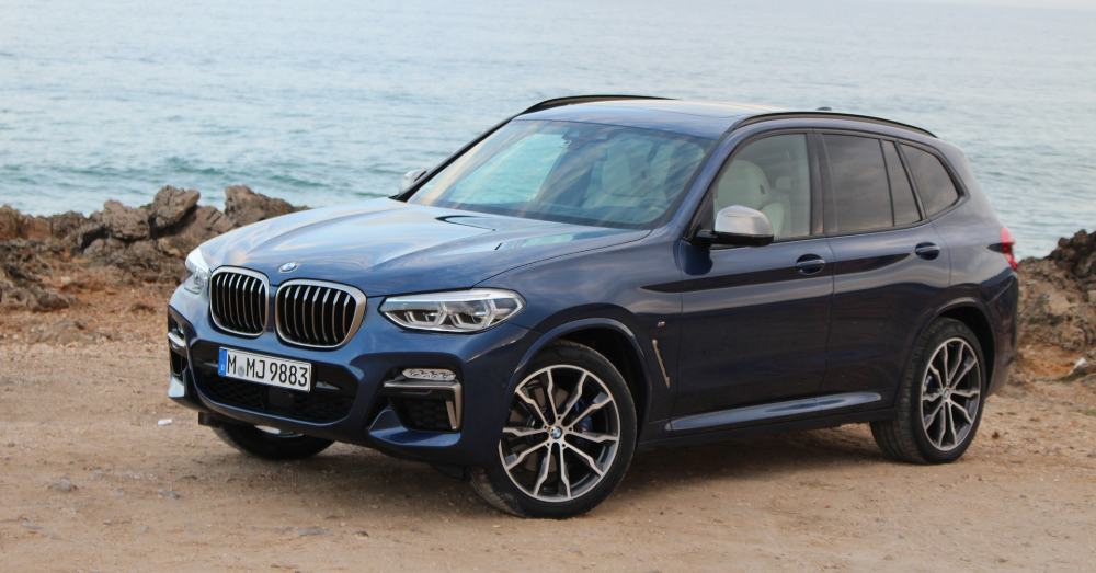 Detailing the New BMW X3 SUV