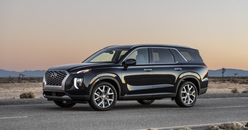 The Hyundai Palisade is a Big SUV