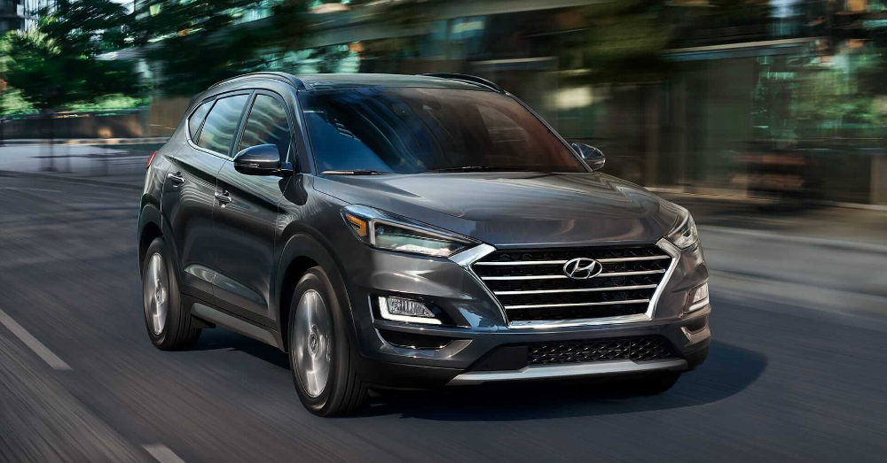 The Right Drive in the Hyundai Tucson