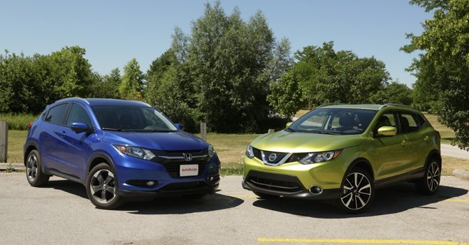 Honda and Nissan Subcompact Crossovers Compared