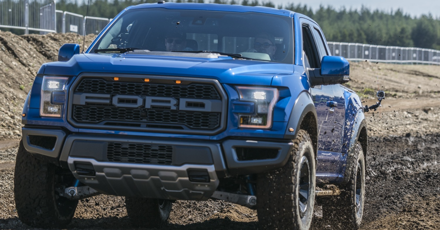 The Next Ford F-150 Raptor is Being Tested