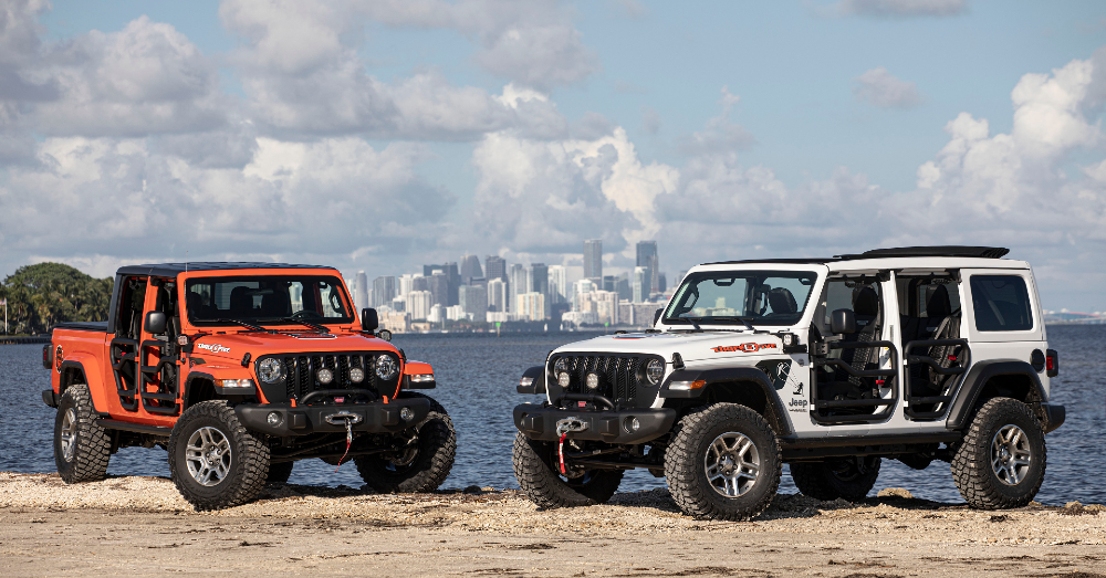 Jeep Gladiator and Jeep Wrangler - Jeep Brings You the Excitement