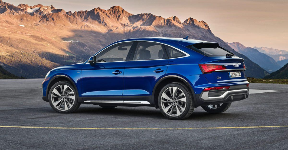 The New Audi Q5 Sportback Brings You Serious Style