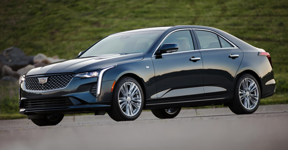 2021 Cadillac CT4: A Seriously Affordable Luxury Car