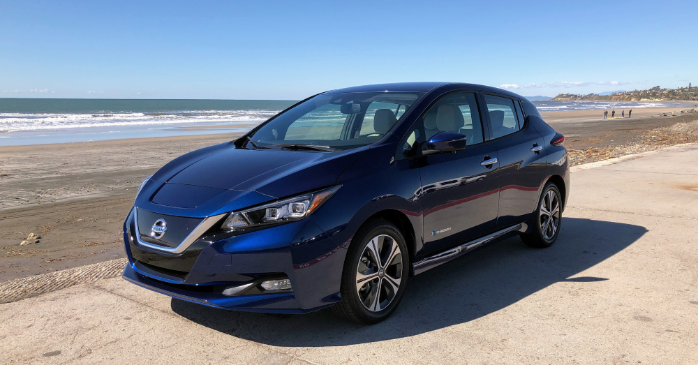 The Nissan Leaf is Modern, Airy, and Elegant