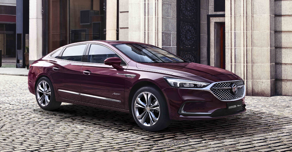 Buick Continues to Upgrade the LaCrosse; for China