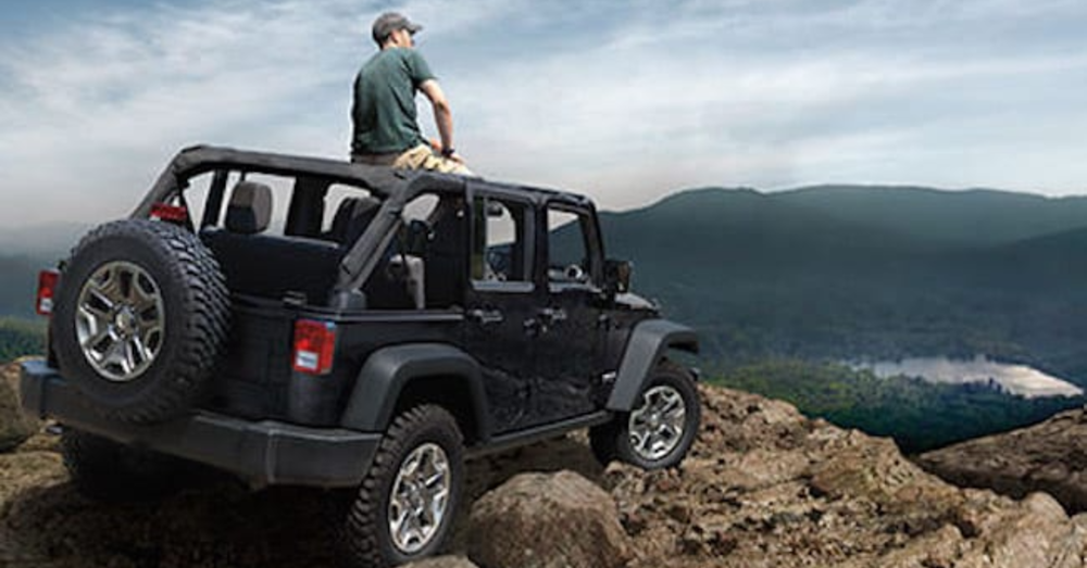 Jeep Goes Just About Anywhere On A Dare