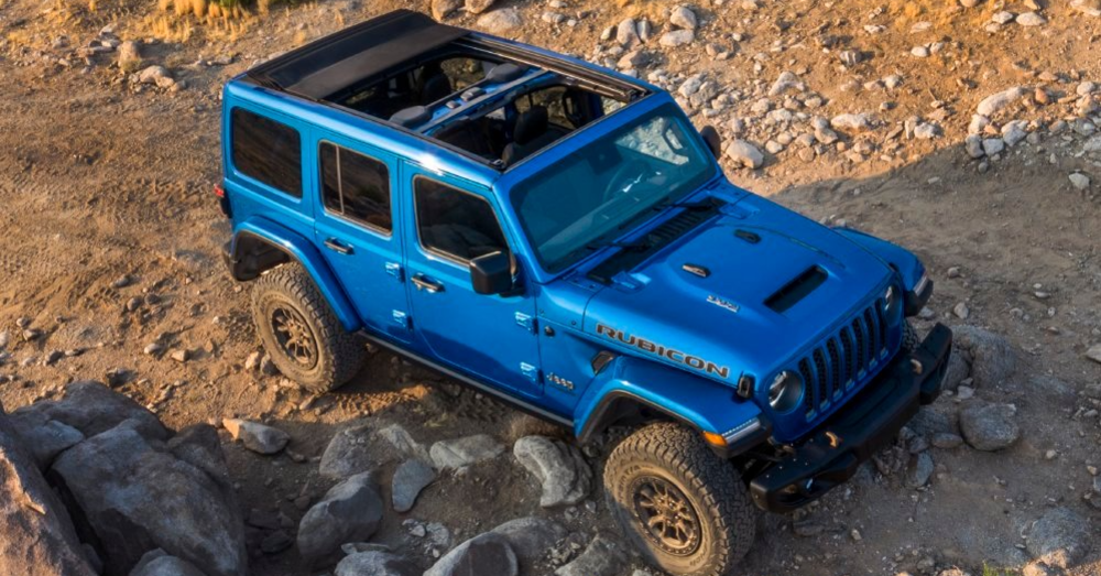 You Will have to Pay for the V8-Powered Jeep Wrangler