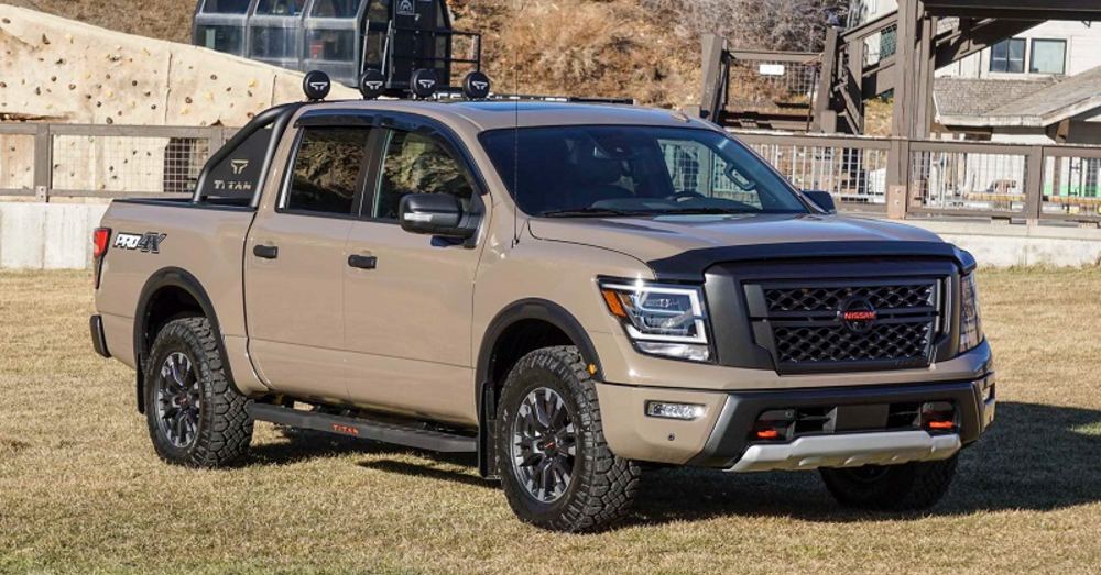 Make Off-Roading Easier with the Nissan Titan Pro-4X