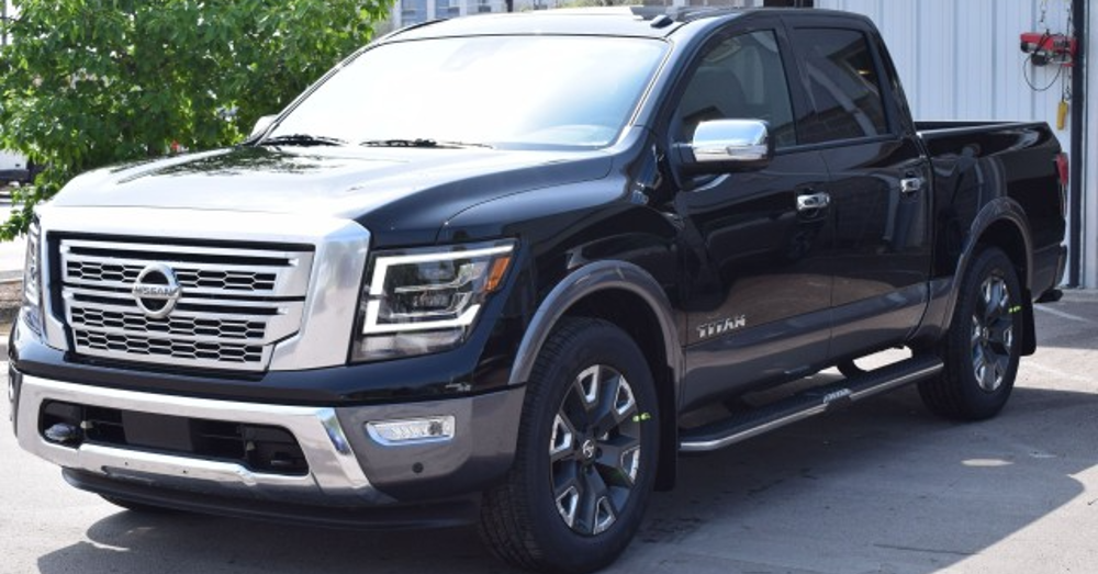 Big Truck Driving with Comfort in the Nissan Titan Platinum Reserve